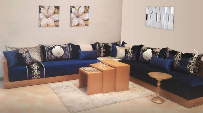 تشكيلة جديدة وعصرية من الصالونات المغربية بذوق راقي ورفيع