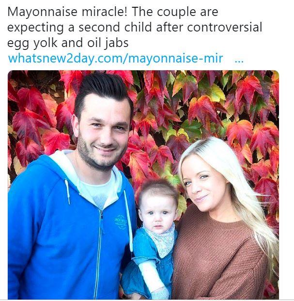 خلطة المايونيز تساعد زوجين على الإنجاب بعد فشلهم في علاج تكيس المبايض مدة 4 سنوات