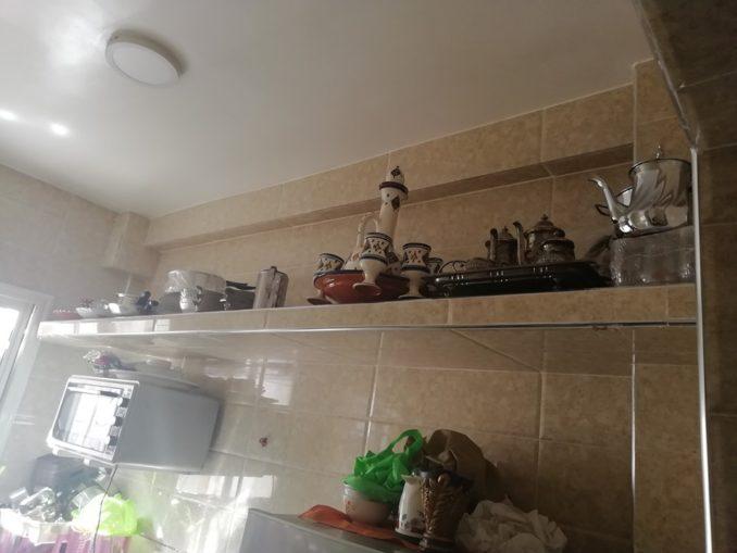 تجديد مطبخ من تقليدي الى مطبخ عصري وراقي بالالومينيوم