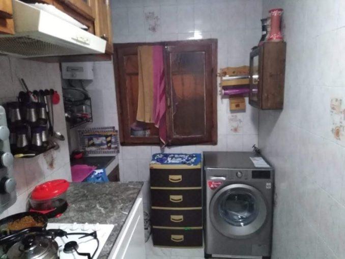 تحويل مطبخ صغير مساحته 3 متر الى مطبخ راقي