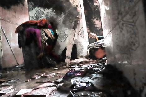 حريق مهول بسبب شارجور يقتل طفلا بالبيضاء