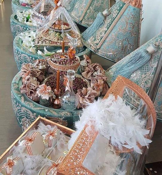 تشكيلة متنوعة وجديدة من الطيافر ودهاز العروسة