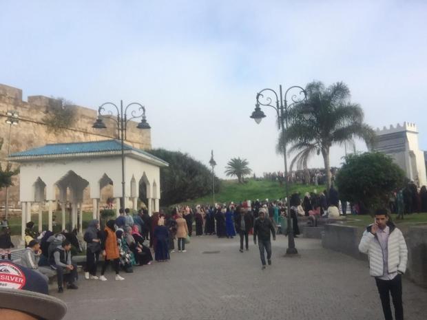 جنازة مهيبة للطفل محمد علي بالعرائش (صور)
