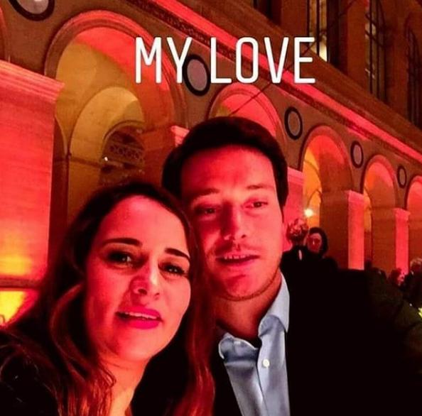ماجدولين الادريسي تنشر لاول مرة صورة تجمعها بزوجها