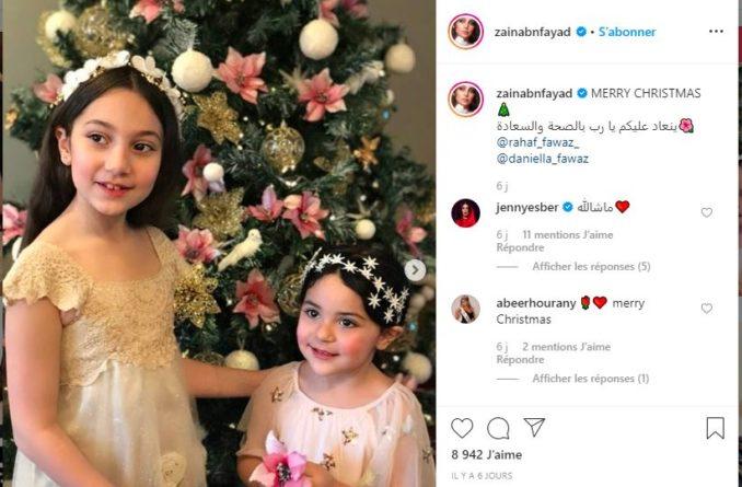 بالصور.. حفيدات هيفاء وهبي يخطفن الأنظار على مواقع التواصل الإجتماعي