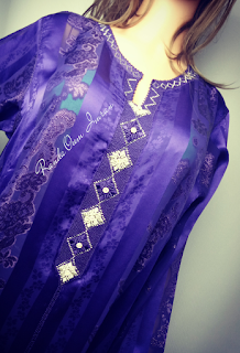 موديلات الراندة على ثوب جوهرة للمناسبات وشهر رمضان من ابداع ام عمران