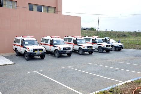 انشاء مستشفى عسكري في 6 ايام لتحدي كوفيد 19 ببنسليمان..صور