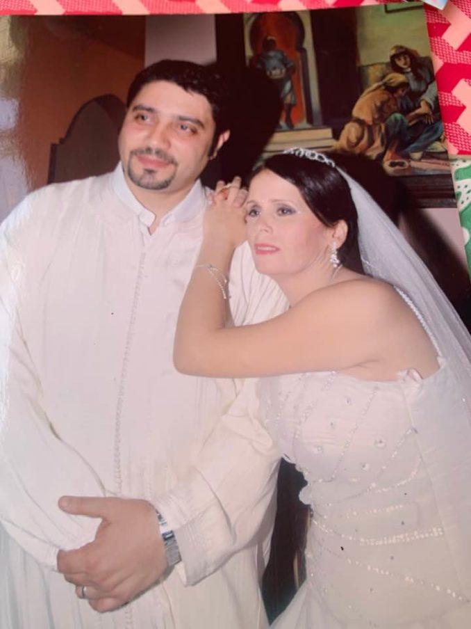 الإعلامية قائمة بلعوشي تشارك متتبعيها صور زفافها من رجل أعمال مصري