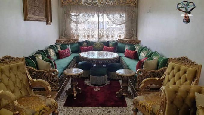 تشكيلة حديثة من الصالونات المغربية غاية في التناسق