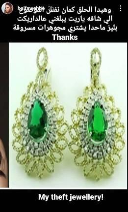 هيفاء وهبي تتعرض لسرقة اكثر من 14 قطعة من مجوهراتها