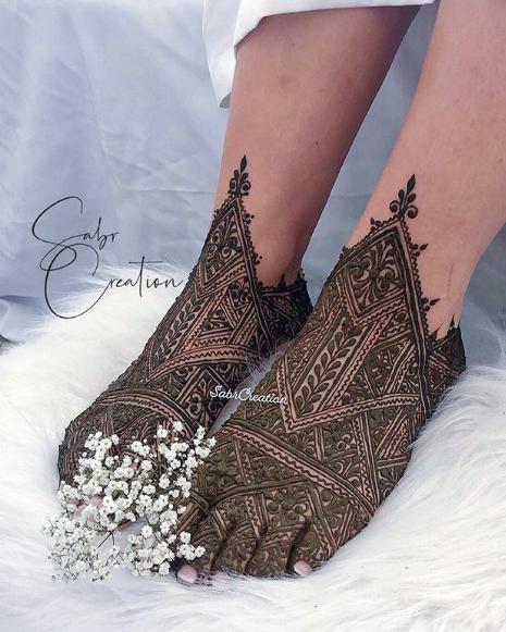 نقوش جميلة ومميزة للعرائس