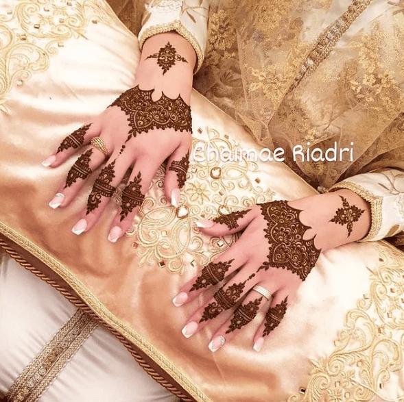 تشكيلة نقوش حناء للعرائس