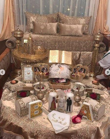 تشكيلة متنوعة من جلسات الحناء للعروس