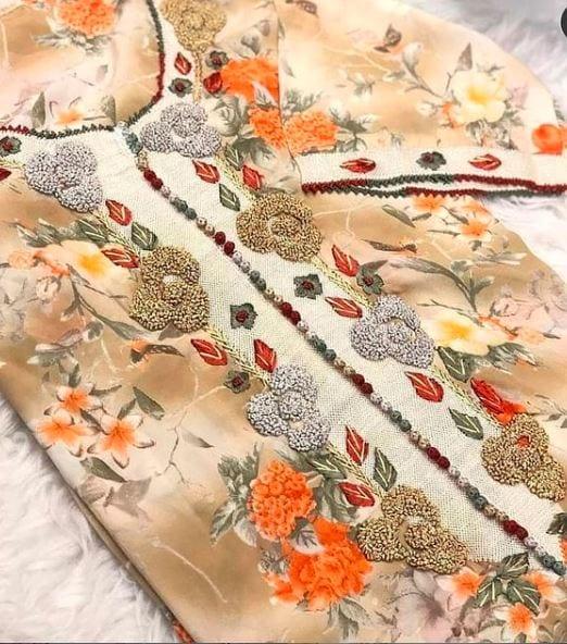 تشكيلة متنوعة من خياطة الراندة بالألوان