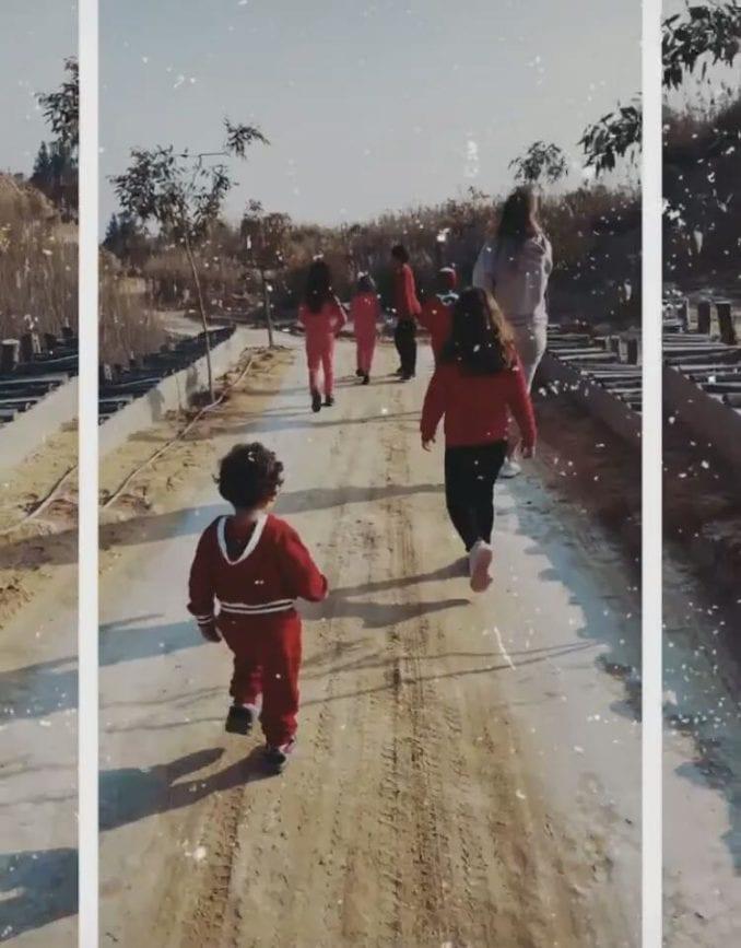 بسمة بوسيل تنشر اول صورة لابنها آدم