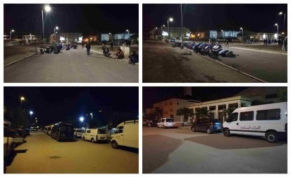 بمدينة فاس مواطنون يتحدون قرار حظر التجول ويقيمون صلاة التراويج في الشارع