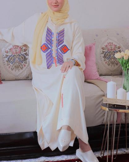 تشكيلة من الجلابة المغربية لعيد الفطر بالبرشمان والتنبات