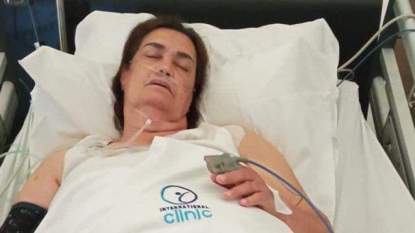 عملية مستعجلة تدخل الفنانة نعيمة بوحمالة المستشفى