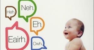 لغة المواليد