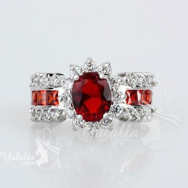 Arinna-Wholesale-Women-girl-Fashion-font-b-Jewelry-b-font-silver-font-b-ruby-b-font