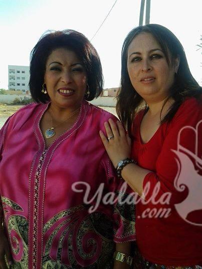 الممثلة المغربية كريمة وساط بعد قيامها بتصغير للمعدة