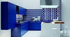 مطابخ أنيقة و حديثة باللون الأزرق ، ما رايكم ؟