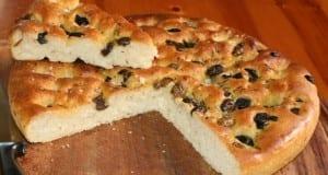 وصفة وطريقة تحضير خبز الزيتون الشهي