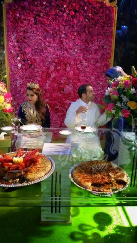 بالفيديو والصور : حفل زفاف إبن اغنى رجل في الصحراء المغربية ... عطى مليار فالصداق