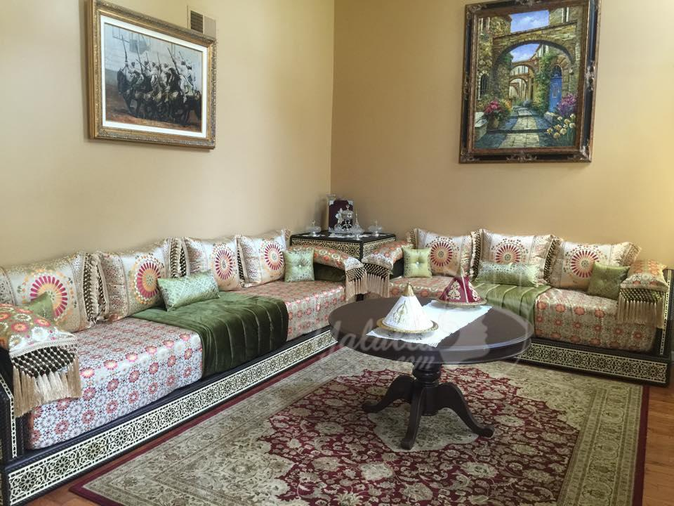 صالون مغربي رائع من أمريكا تشاركنا به لالة نادية (13)