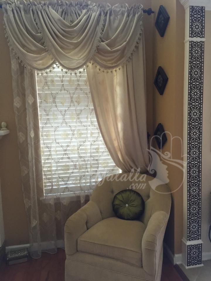صالون مغربي رائع من أمريكا تشاركنا به لالة نادية (5)