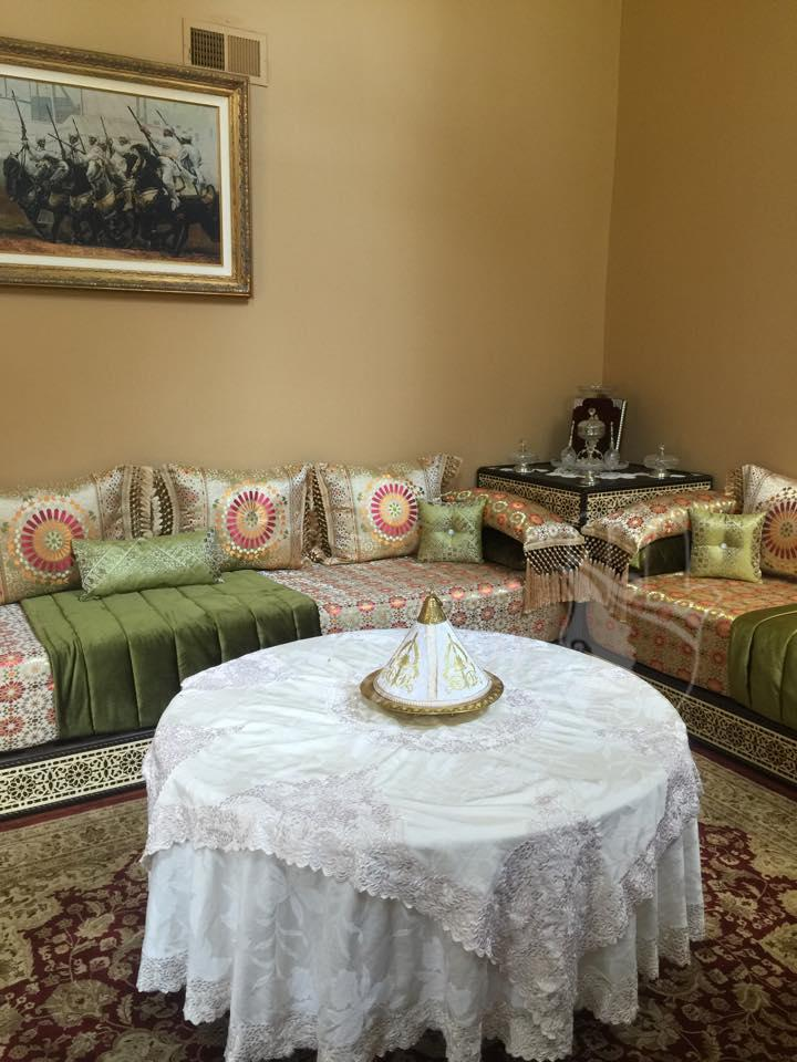 صالون مغربي رائع من أمريكا تشاركنا به لالة نادية (9)