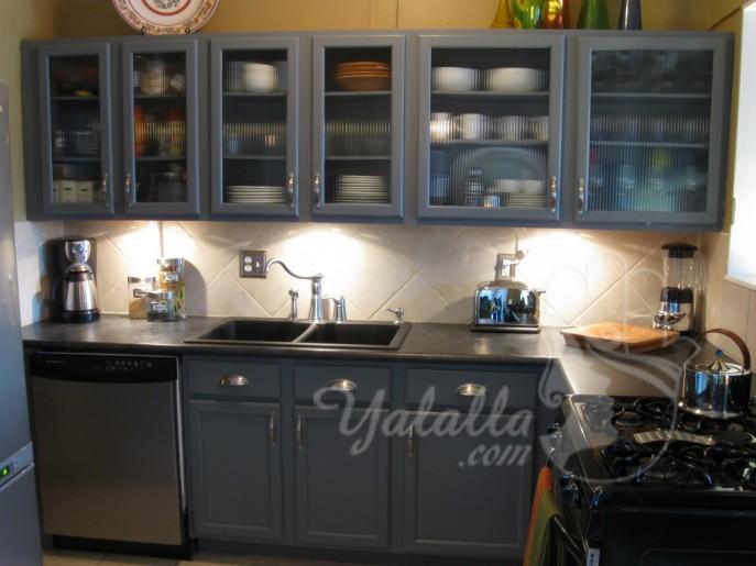 تصاميم مطابخ أنيقة للمنازل الصغيرة   (1)
