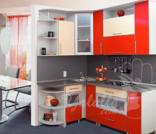 تصاميم مطابخ أنيقة للمنازل الصغيرة   (9)