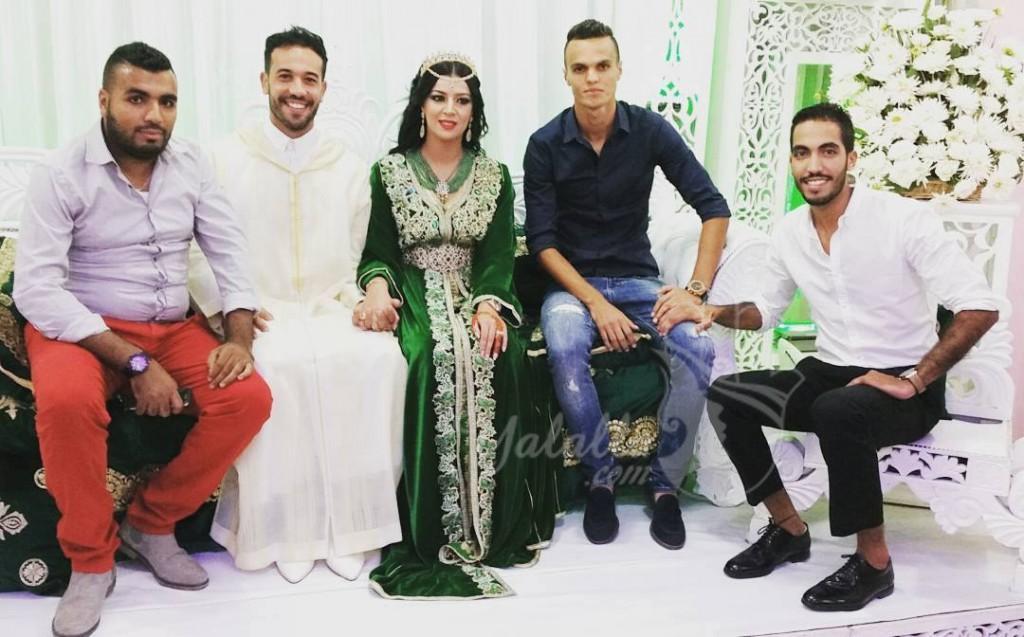 صور حفل زفاف حارس الرجاء أنس الزنيتي (3)