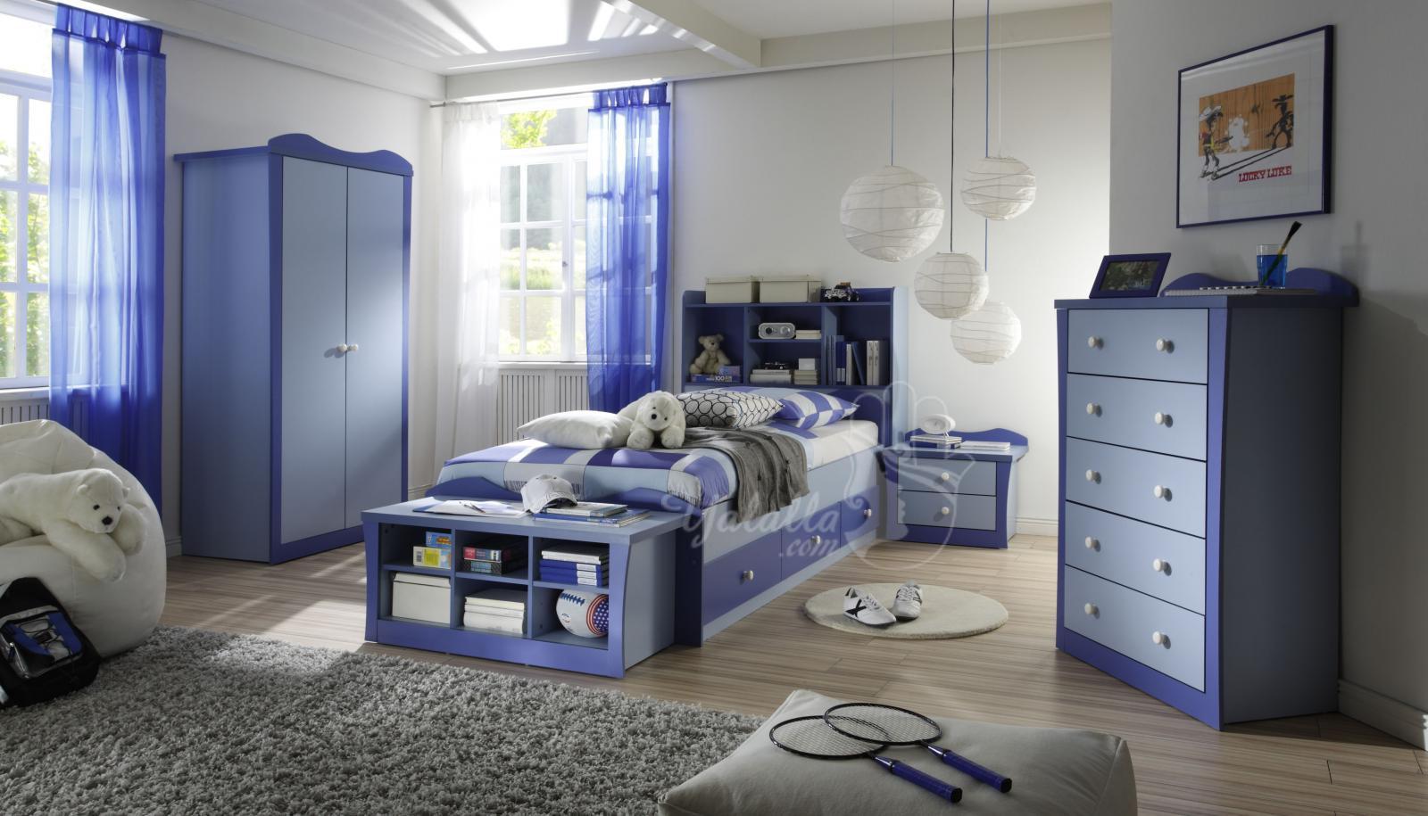 غرف نوم ذكور مرتبة بشكل أنيق وتناسب كل الأعمار   موقع يا لالة