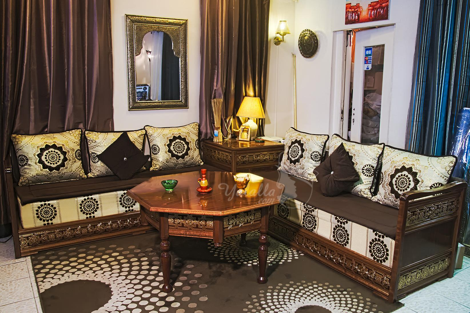 for Lhaf salon marocain