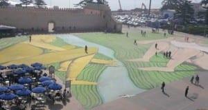 الصويرة تحتضن أكبر لوحة فنية بشمال إفريقيا