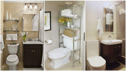 أفكار مبتكرة لتغيير شكل الحمام الصغير و تزيينه بأقل ...