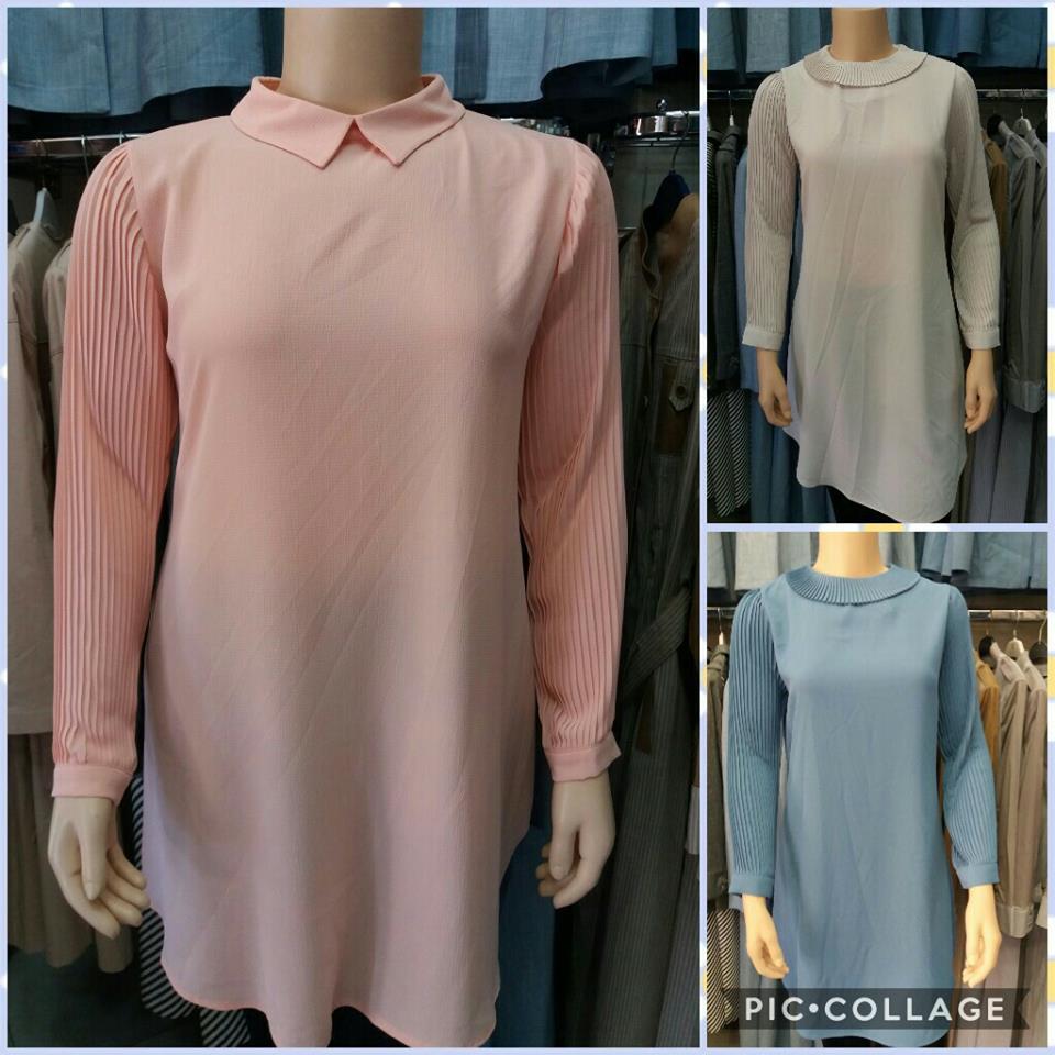5a8fc0af7 جديد فصل الربيع في المحلات...ملابس طويلة للمحجبات في غاية الأناقة ...