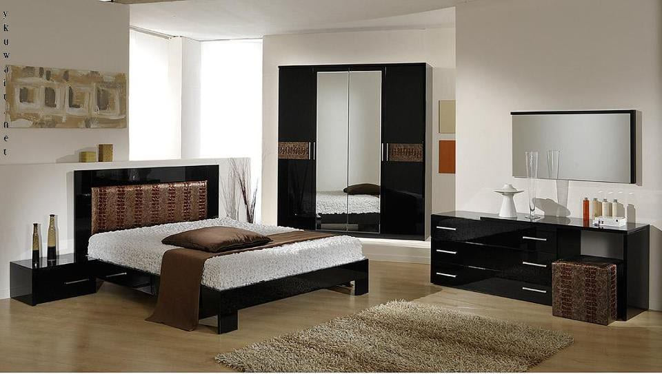 بالصور تشكيلات مميزة وراقية من غرف النوم العصرية التي