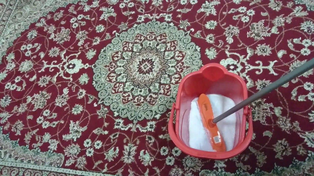 طريقة سهلة لغسيل السجاد