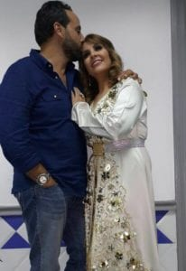 فاطمة خير وزوجها سعد التسولي