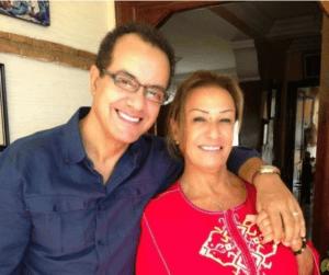 نزهة الركراكي وزوجها المغني البشير عبدو