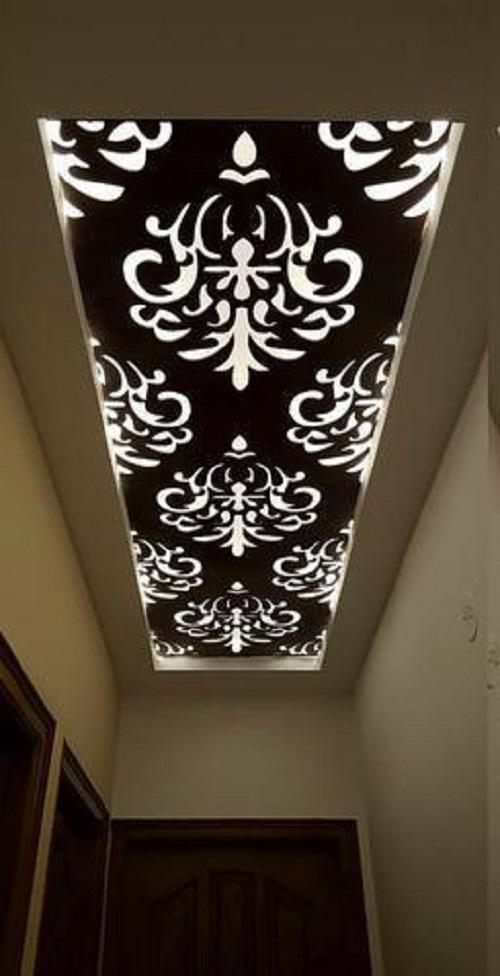 أجي تشوفي الجديد آخر إبداعات تزيين السقف بالخشب موقع يالالة