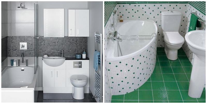 تصاميم حمامات صغيرة جدا مودرن