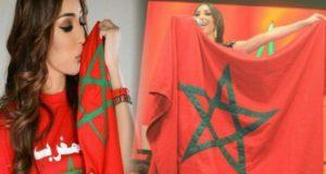 بالصور..دنيا بطمة تتلقى رسالة خاصة من الملك محمد السادس