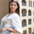 مريم سعيد في ضيافة نائب رئيس دولة الإمارات بقفطان باللون الاحمر الساحر (3)
