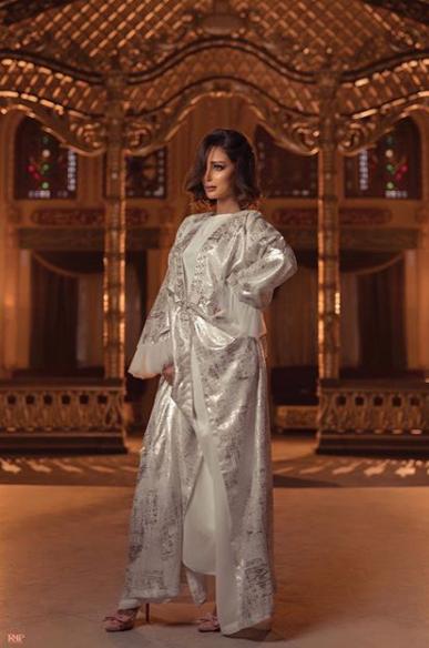 بسمة بوسيل تتألق بعبايات رمضانية من مجموعتها الخاصة Marroquina لشهر رمضان