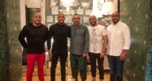أبو زعيتر و اخوانه يشاركون الملك محمد السادس لمائدة الافطار