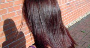 صبغات طبيعية روووعة للعيد بدون حناء ولا اوكسجين للحصول على لون شعر بني شكولاطي وأحمر اكاجو
